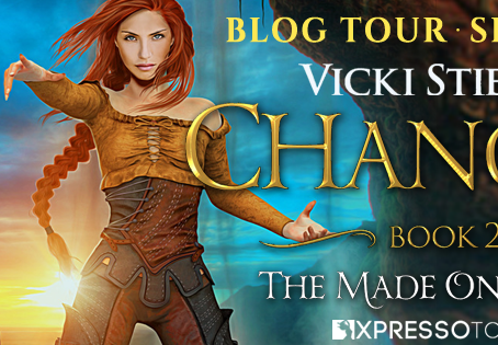 TOUR, REVIEW & #GIVEAWAY - Changed (The Made Ones Saga #2) by Vicki Stiefel