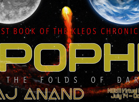 TOUR & #GIVEAWAY - APOPHIS - Into the Folds of Darkness by Raj Anand
