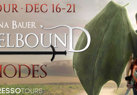 TOUR, REVIEW & #GIVEAWAY - Rhodes (Angelbound Offspring #4) by Christina Bauer