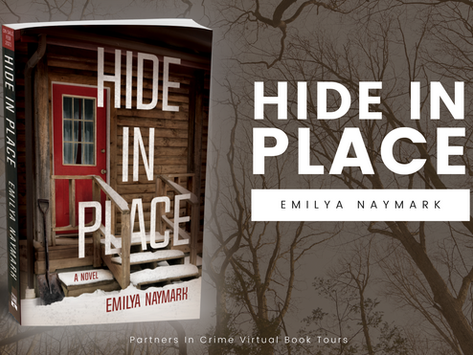 TOUR & #GIVEAWAY - Hide In Place by Emilya Naymark