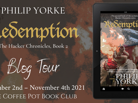 Tour: Redemption (The Hacker Chronicles #2) by Philip Yorke