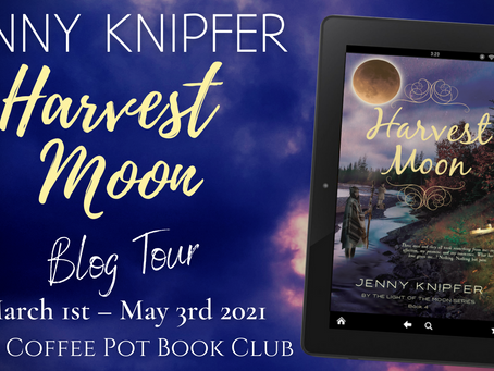 TOUR & EXCERPT - Harvest Moon (By the Light of the Moon #4) by Jenny Knipfer