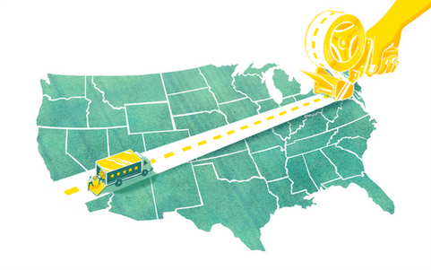 INTERSTATE MOVING // The New York TImes