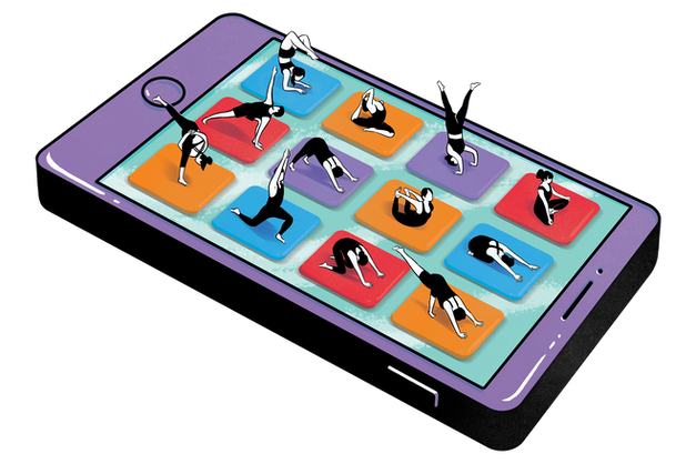 YOGA APPS // The Wall Street Journal