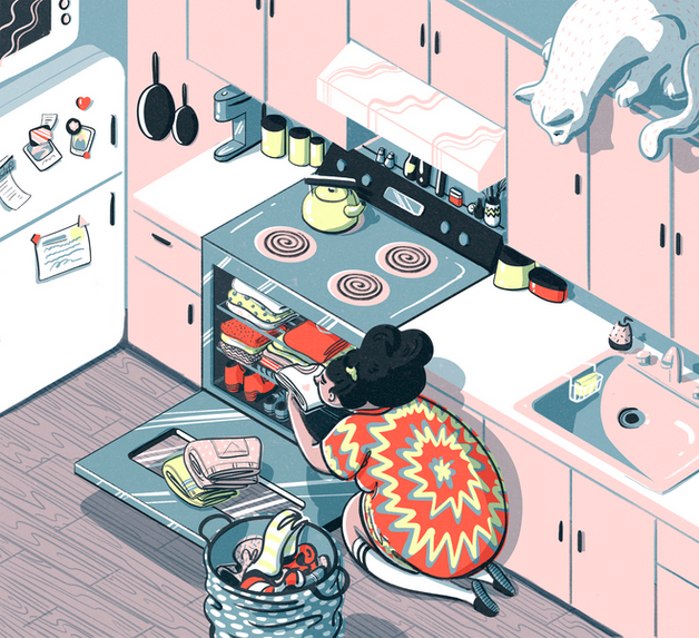MY APARTMENT WAS SO SMALL // The Wall Street Journal