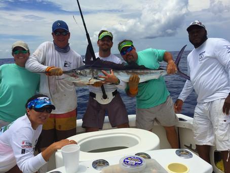 White Marlin caught off Key Largo, Florida Keys