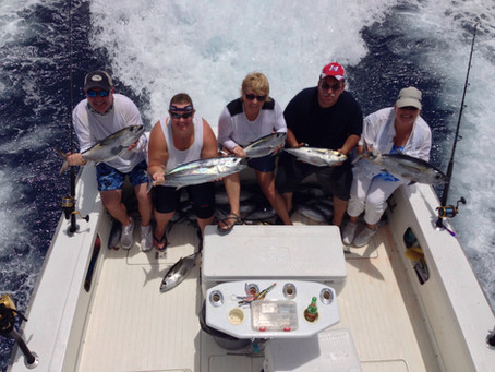 Florida Keys fishing charter report - Blue Marlin & Tuna
