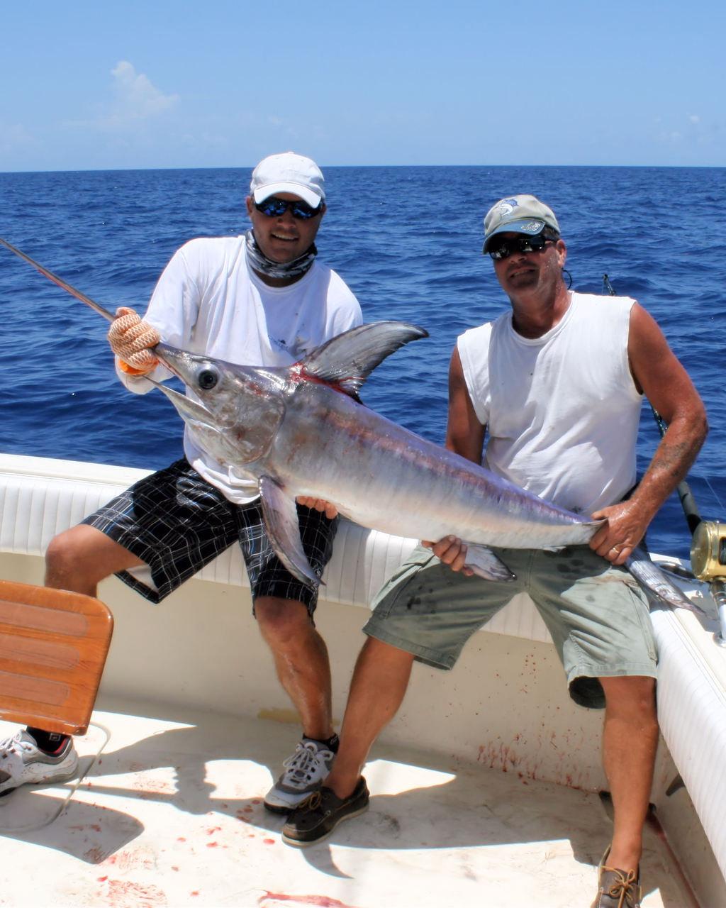 10Hr Swordfish Charter