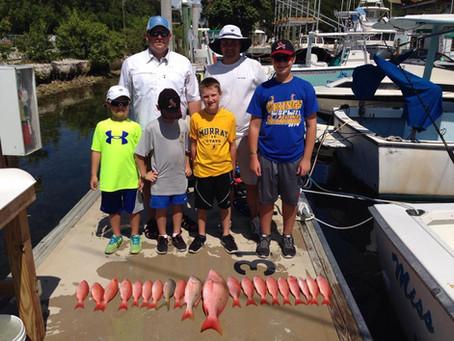 Florida Keys Fishing Charter - Wreck Fishing