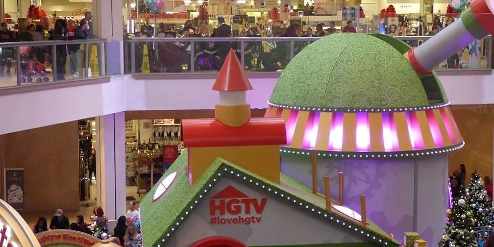 Welcoming Santa at the Deptford Mall- Holiday Celebration
