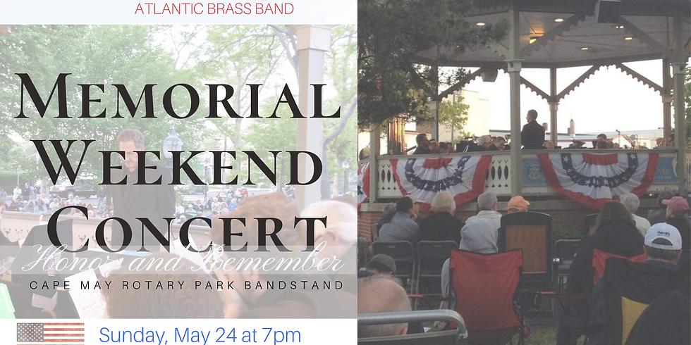 Memorial Day Weekend Concert in Cape May 2020