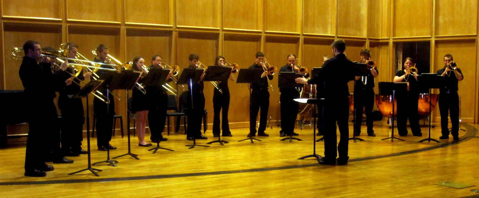 UD Trombone choir