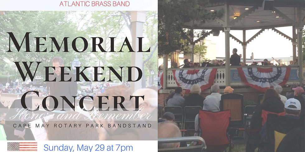 Cape May Music Festival Memorial Weekend Concert
