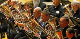 Euphoniums & Baritones at Mass Brass