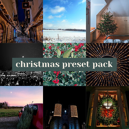 Christmas Preset Pack 2020 - For Lightroom Mobile