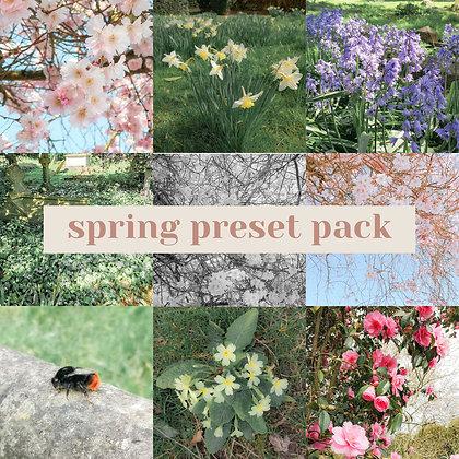 Spring Preset Pack 2021 - For Lightroom Mobile