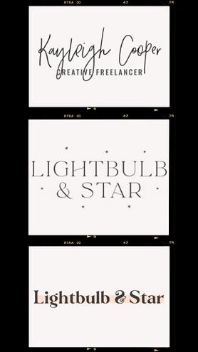 Lightbulb And Star Adobe Lightroom Image