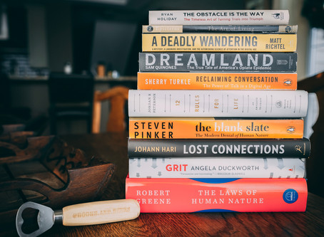 The Books & Beers Top 10 Non-Fiction For 2018