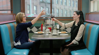 Sitting in Diners Eating Donuts - Meredith Viera