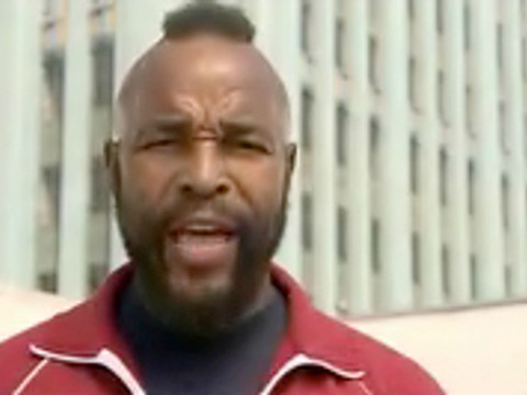 "Mr. T's ""I Pity the Fool"" Web Content"