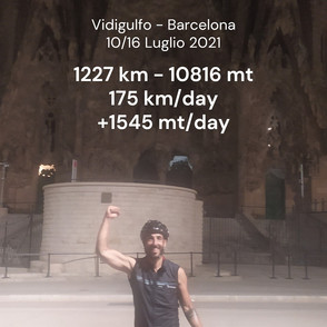 Vidigulfo - Barcellona 1227 km - La sintesi