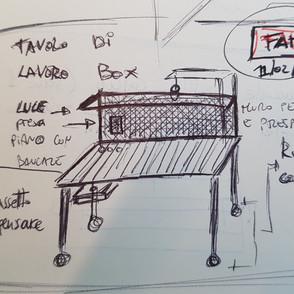 Il tavolo per il Lab