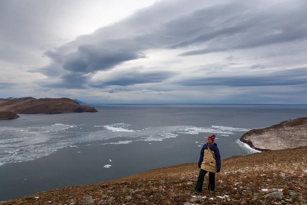 На Байкале в декабре