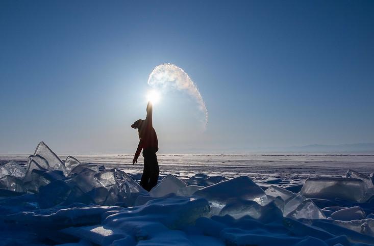 Водяной серп. Фото Елены Есиной