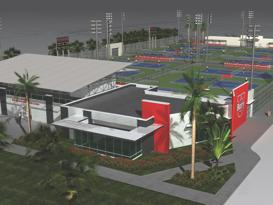 BARRY UNIVERSITY  TENNIS CENTER