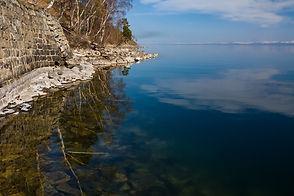Байкальская вода в мае