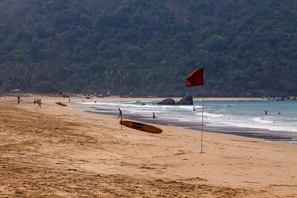 Пляж в Агонде, Южный Гоа