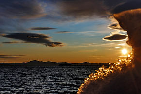 Лёд, вода и пламя. Байкал в декабре