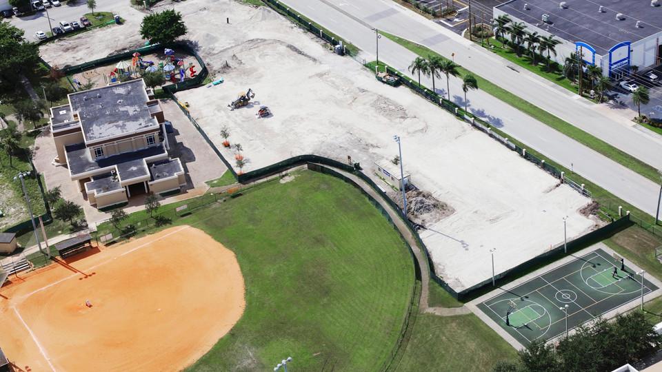 MDPLS - Hialeah Gardens Library - Aerial