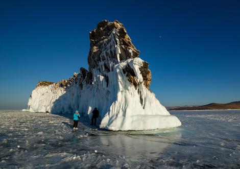 Остров Ольтрек, Байкал