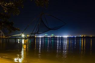 Рыбацкие сети в Кочи, Индия