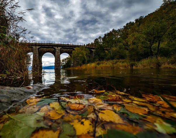 Старый каменный мост в пади Крутая Губа,