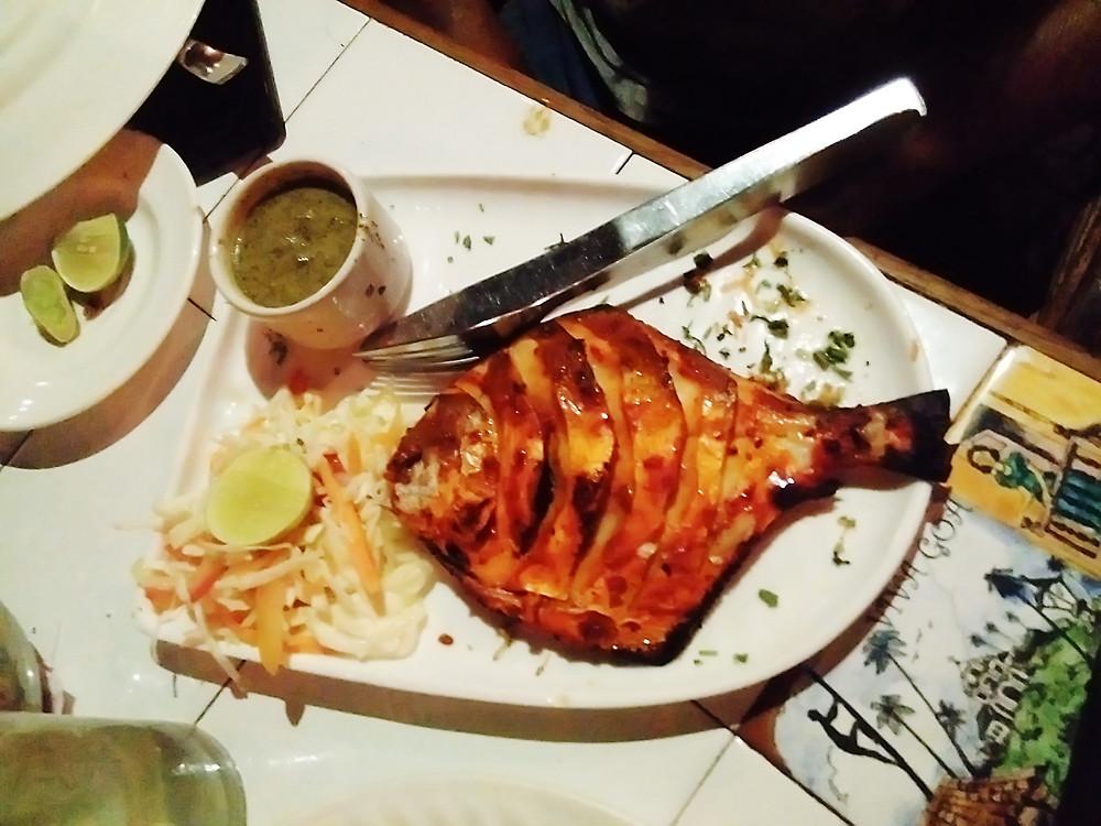 Гоанская рыбка