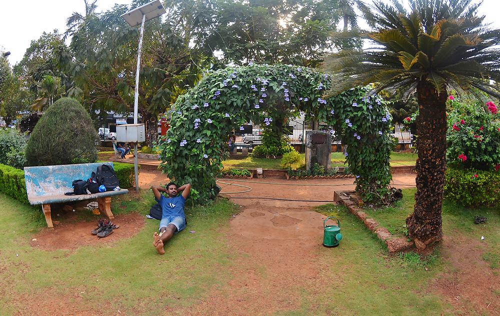 Городской сад в городе Маргао, Гоа