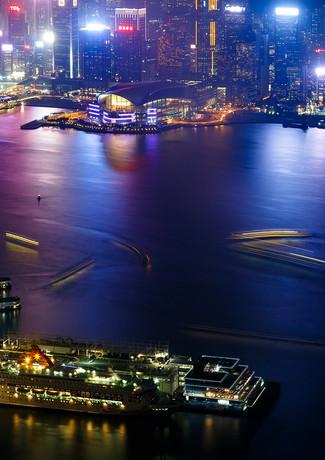 Виды Гонконга со смотровой площадки Sky100