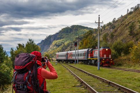 "Фотосъёмка ""матани"" - регулярного поезда"