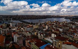 Вид Стамбула с башни Галата