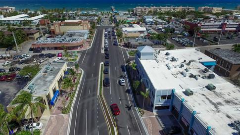 Mid-Block Commercial Boulevard Streetscape Improvements