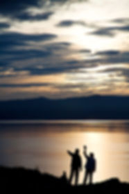 Закат на острове Ольхон, Байкал