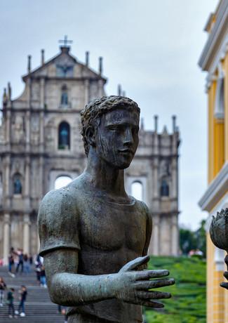 Собор (его остатки) Святого Павла в Макао