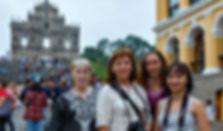 Участники фототура в Гонконг в ноябре 2017, Собор Святого Павла, Макао