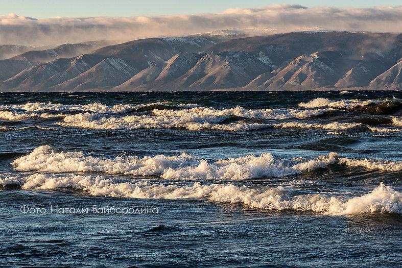 Байкал в декабре. Фото Натальи Байбороди