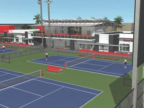 BARRY UNIVERSITY TENNIS CENTER