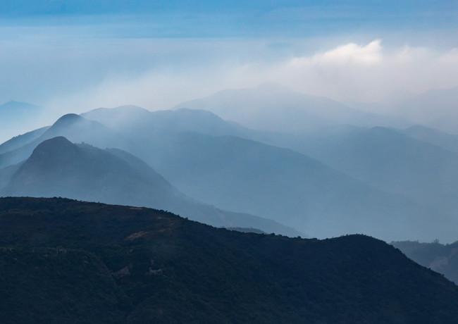 Виды по пути подъёма на Будду на острове Лантау