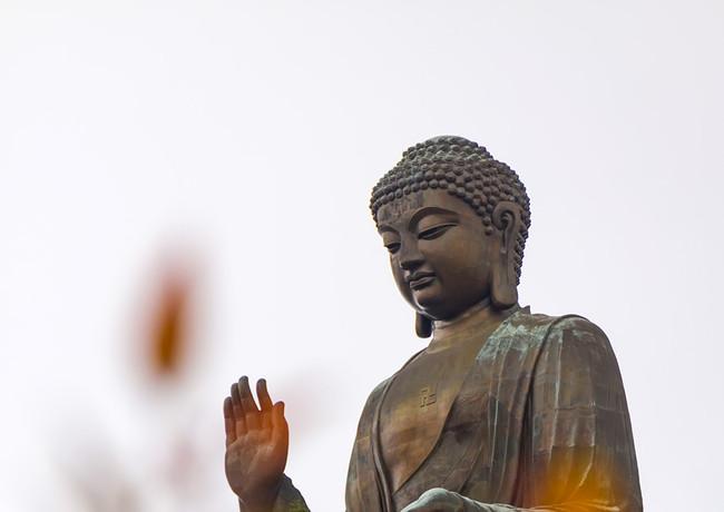 Статуя Большого Будды на острове Лантау