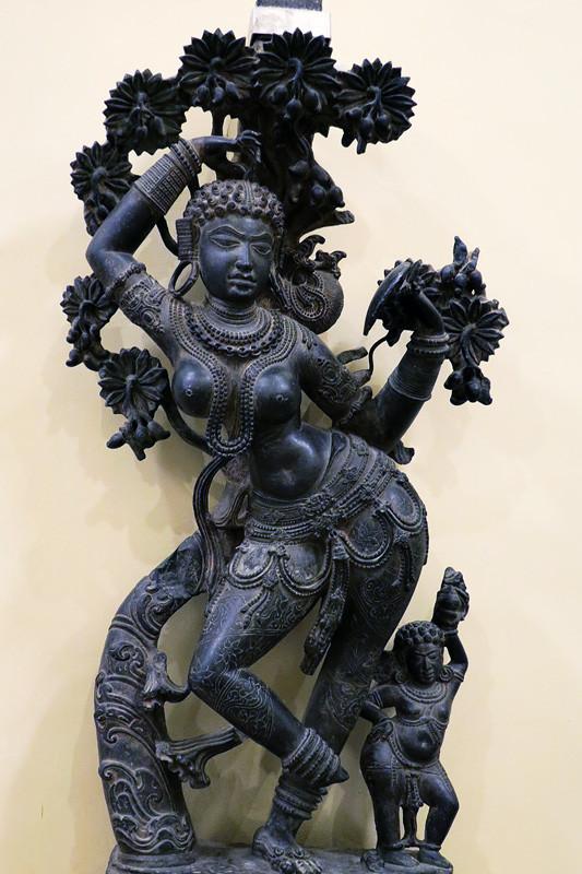 Экспонат в Национальном музее в Дели